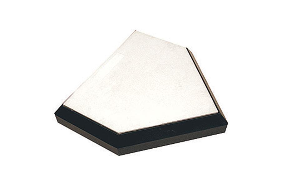 3/4″ wood bottom, 3″ thick