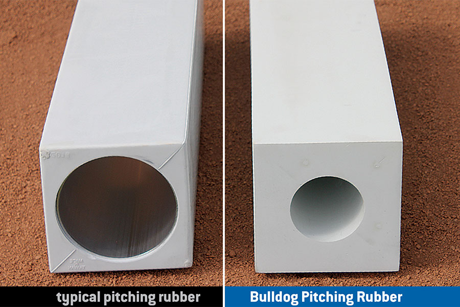 Bulldog Pitching Rubber Solid Rubber