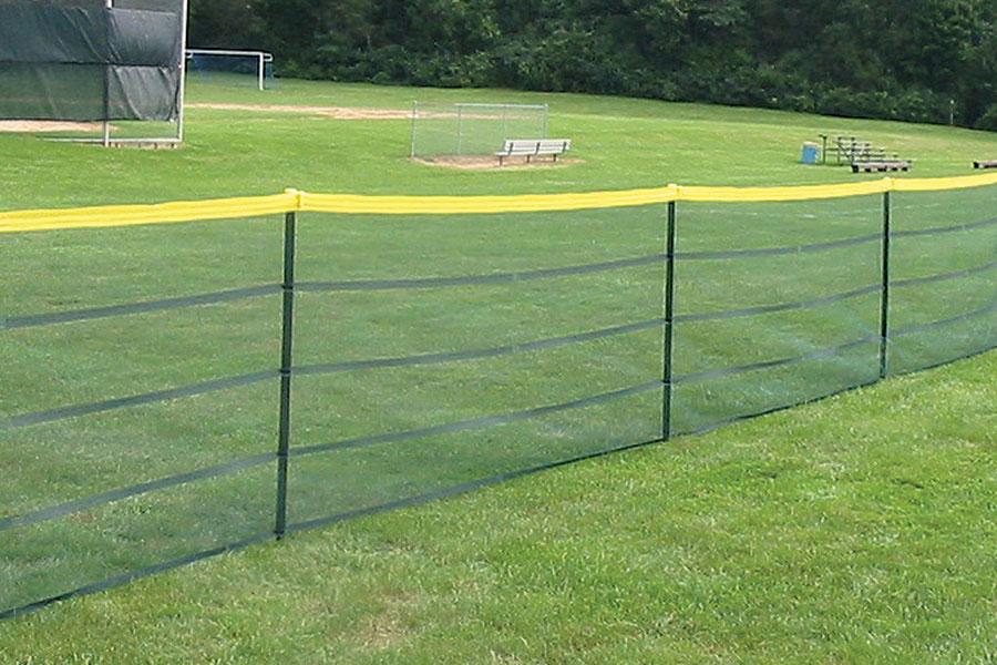 Poles For Grand Slam Portable Fence