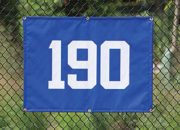 Small Outfield Distance Marker