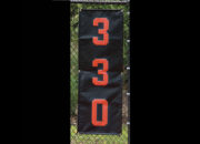 Vertical Outfield Distance Marker