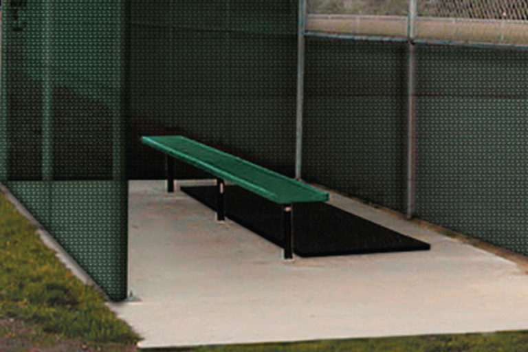 Non-skid rubber mat made with 100% recycled  rubber products