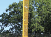 Standard Foul Pole 18″ metal visibility wing