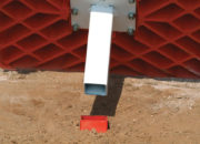 "Easily installs in standard 1½"" square ground anchors"