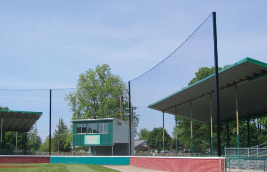 Beacon Engineered Net Backstop Systems Beacon Athletics