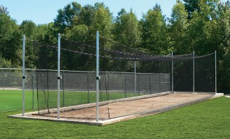 TUFFframe Tensioned Outdoor Batting Cage