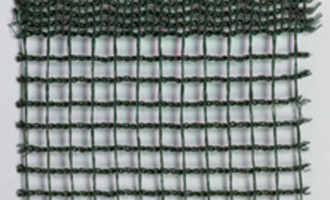Knitted polypropylene fence fabric