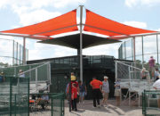 4-Way T-Cantilever Bleacher Covers