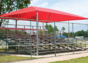 Rectangular Bleacher Cover