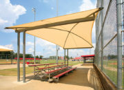 Single-Cantilever Bleacher Cover