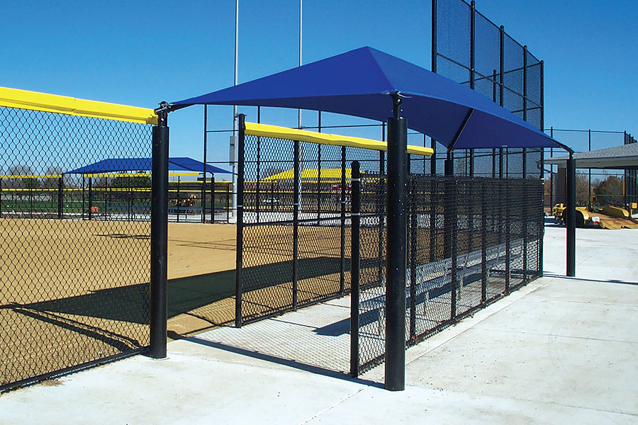 Shade Cover For Dugouts Beacon Athletics Store