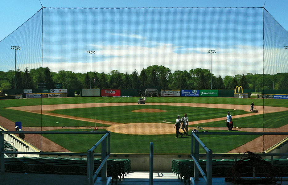 Tie-Back Net Systems leave NO sightline obstructions giving your fans a perfect view.