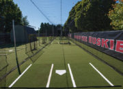 Maximum interior space with 14′ W x 14′ H design there is plenty of room for hitters, pitchers, and equipment