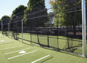 An integrated multi-station hitting complex is easy to achieve with soft toss stations