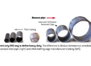 TUFFframe Tensioned Pipes Comparison