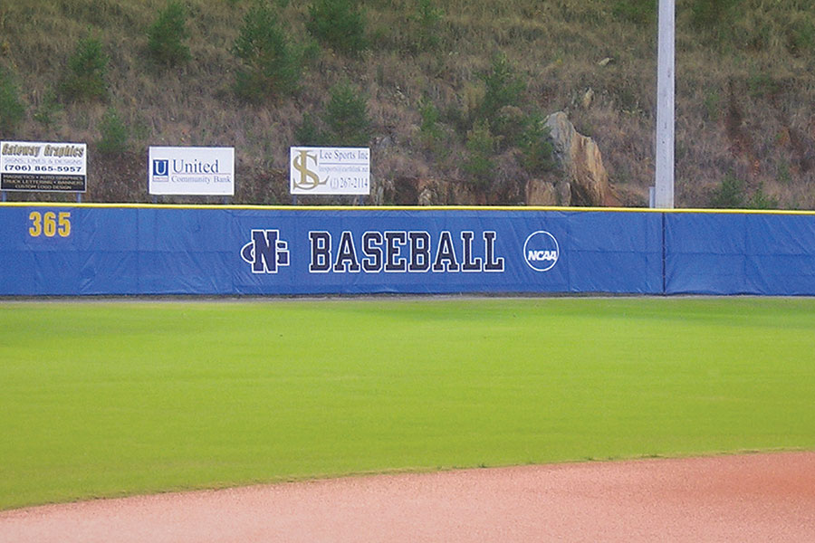 Baseball Outfield Fence Screen Wind Barrier