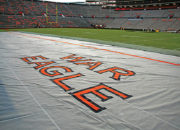 Bench Zone Sideline Turf Protectors at Auburn University