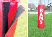 Goalpost padding