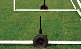 Keeper Goals levered lifting wheels for M-Series soccer goals