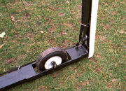 Semi-pneumatic wheel for the Keeper Goals Wheeled Soccer Goals