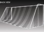 View from the back of the Kwik Goal Evolution® Soccer Goals