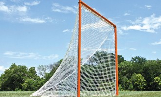 Official NCAA size lacrosse goal