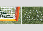 Deluxe practice lacrosse goal