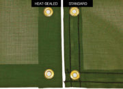 Premium Mesh Heat-sealed edging compare with standard hem