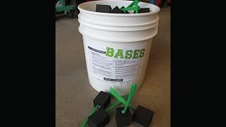 Black Foam Whisker Plug in Bases Beacon Bucket