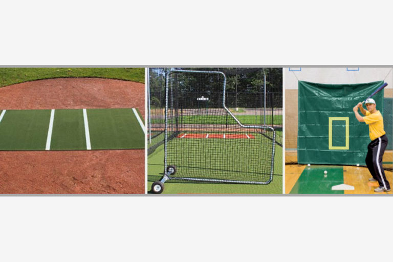 Premium Batting Cage Accessory Package