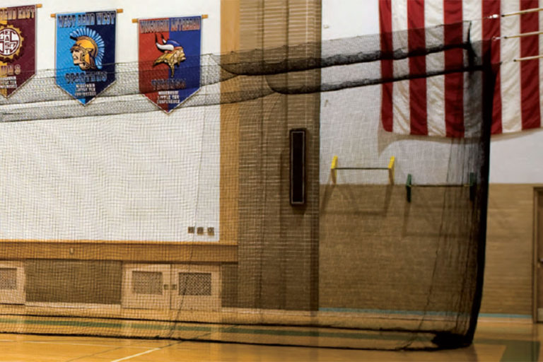 Divider Net add-on for Phantom Indoor Batting Cage