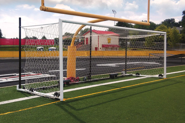 Box-Style Stadium Cup Soccer Goal