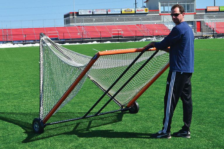Lacrosse Goal Cart