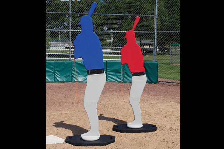Designated Hitter pitching practice stand-in