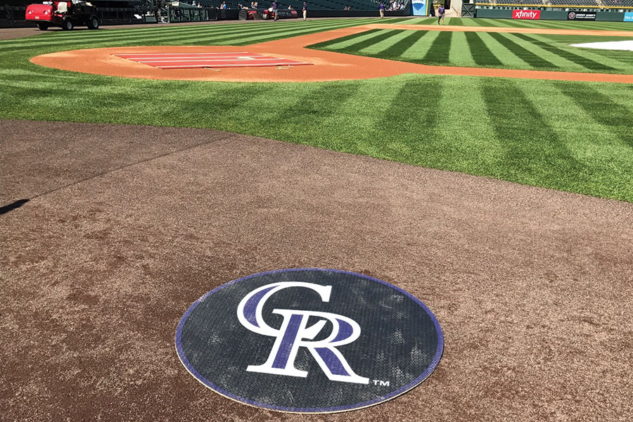 TUFFDeck On Deck Circle Coors Field Colorado Rockies