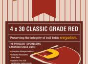 ProSlide™ 4×30 Classic Grade Red Topdressing bag