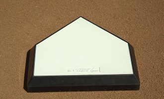 Schutt Homeplate Solid wood core top view