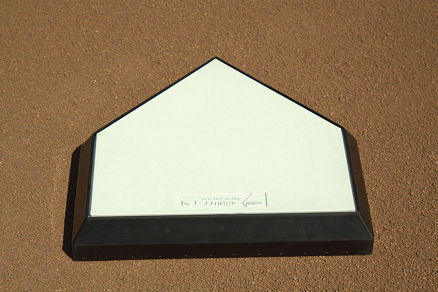 Schutt Homeplate Solid wood core top view
