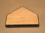 Schutt Homeplate Solid wood core bottom view