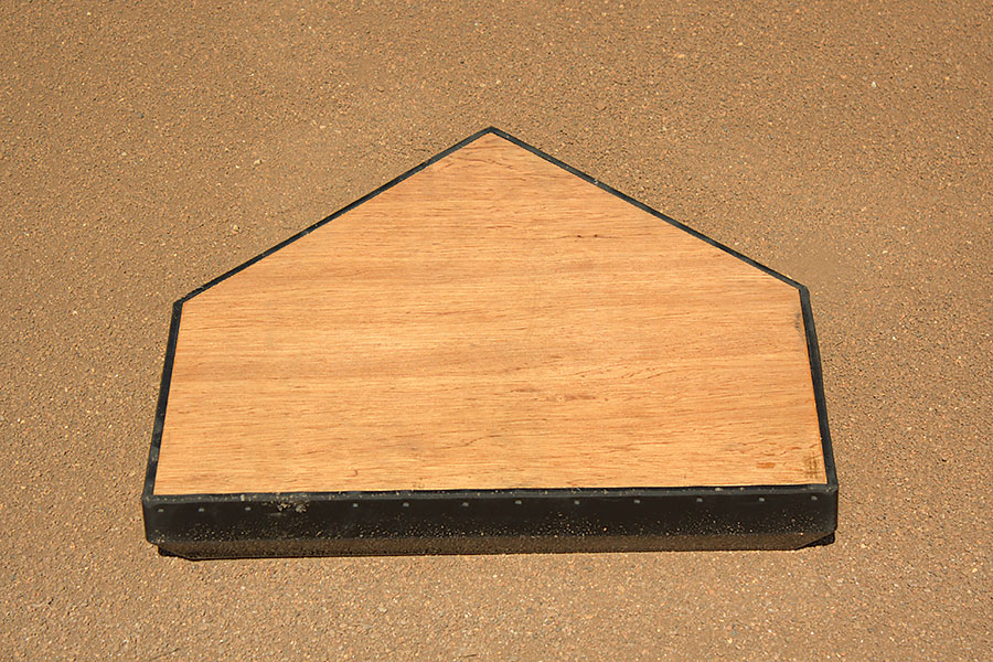 Schutt Home Plate with Solid Wood Core | Beacon Athletics