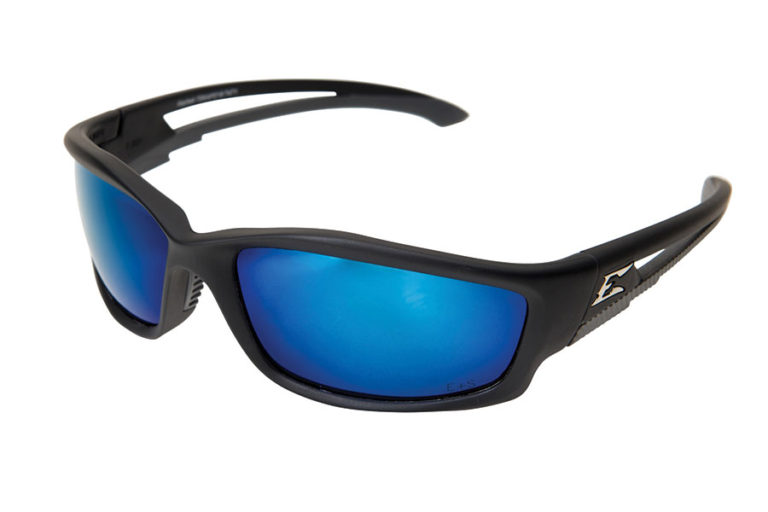 Edge Eyewear Kazbeck Aqua Precision Blue Polarized Lens