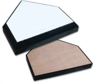 301-905-125 In gound home plate with wood bottom